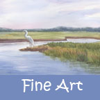 Fine Art portfolio button word 144 x 144